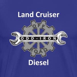 ODIO Land Cruiser Diesel Shirt White 8 27 2017 - Men's Premium T-Shirt