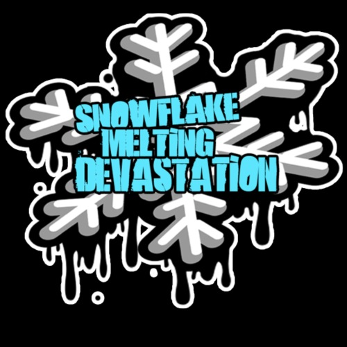 Snowflake Melting Devastation - Men's Premium T-Shirt