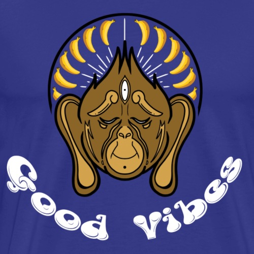 MM Series: Zen 2: Good Vibes - Men's Premium T-Shirt