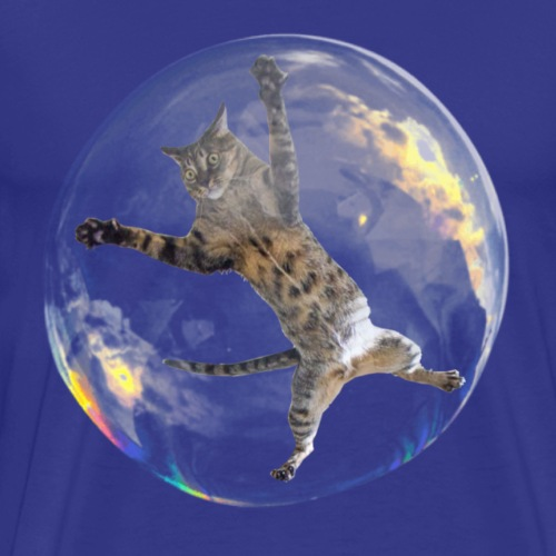 Bubble Cat - Men's Premium T-Shirt