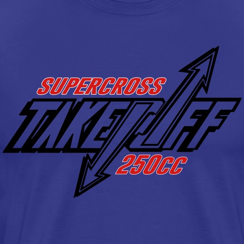 TakeOff-Supercross250cc - Men's Premium T-Shirt