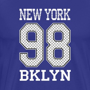 New York 98 BKLYN - Men's Premium T-Shirt