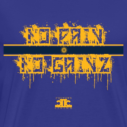 No Pain No Gainz Yellow - Men's Premium T-Shirt