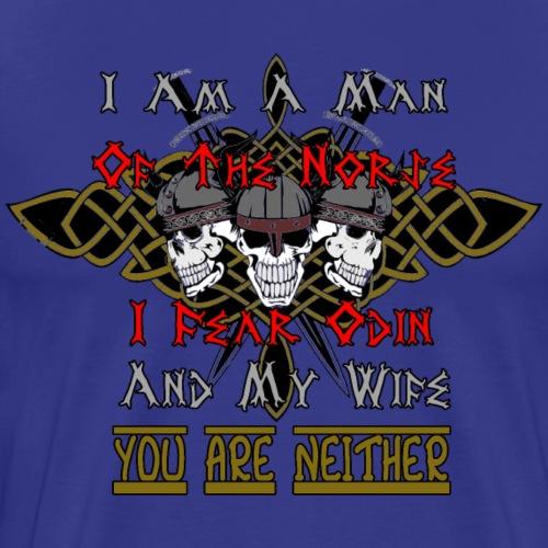 I Am A Man of the Norse - Men's Premium T-Shirt