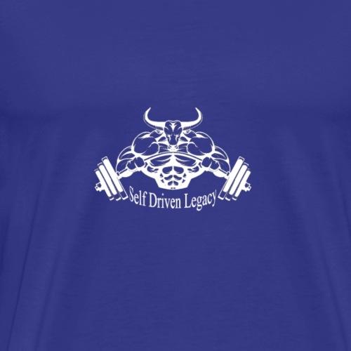 SDL White - Men's Premium T-Shirt