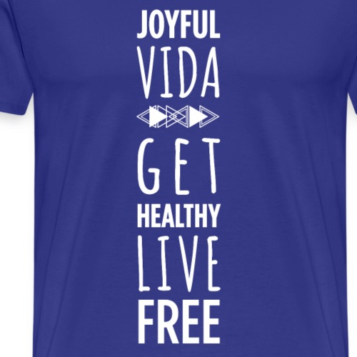 Men's Aztec Get Healthy Live Free - Men's Premium T-Shirt