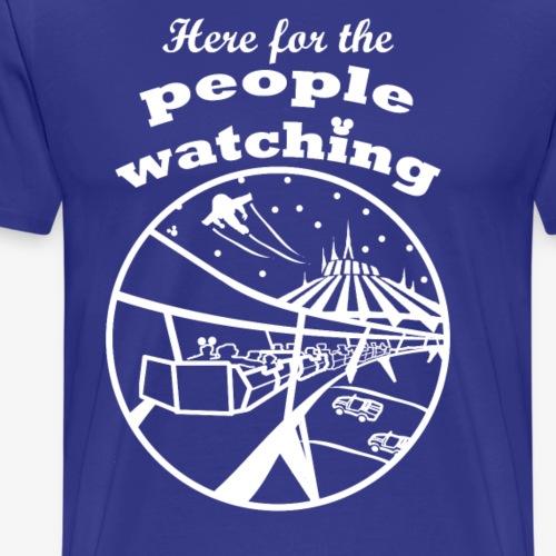 People Watching at Disney - Men's Premium T-Shirt