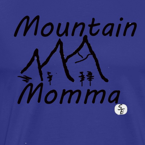 Mountain Momma - Men's Premium T-Shirt