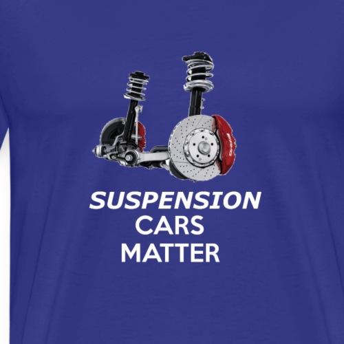 suspension car matter - Men's Premium T-Shirt