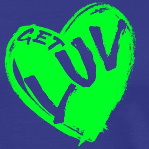 Get Luv - (Athlete Green) - Men's Premium T-Shirt