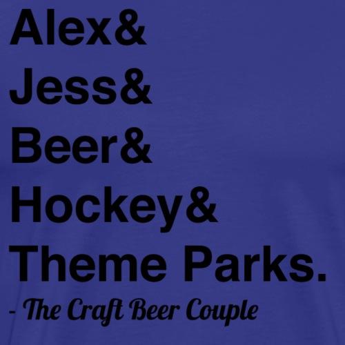CBC List Shirt - Men's Premium T-Shirt
