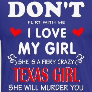 Texas girlfrien - Men's Premium T-Shirt
