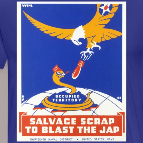JAP BLASTER 13 - Men's Premium T-Shirt