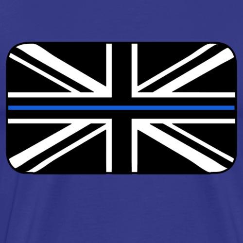 Thin Blue Line UK Flag - Men's Premium T-Shirt