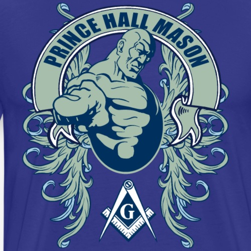 Prince Hall Mason Design - Men's Premium T-Shirt