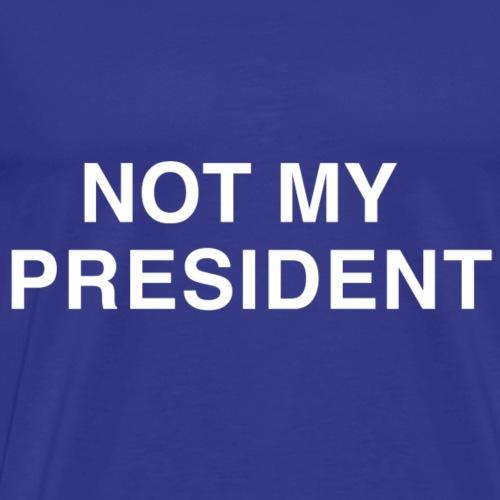 Bold Centered White - Men's Premium T-Shirt