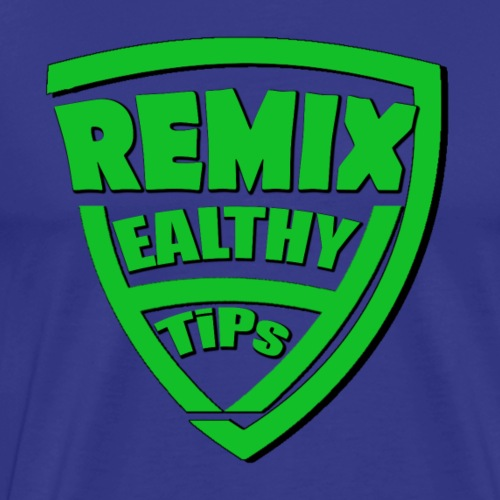 7Remix Healthy Tips T-shirt - Men's Premium T-Shirt