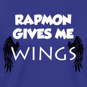 Rapmon Gives Me WINGS Shirt - Men's Premium T-Shirt