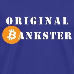 ORIGINAL BANKSTER - Men's Premium T-Shirt