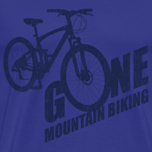 Gone Mountain Biking - Men's Premium T-Shirt