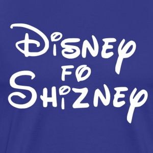 White Disney4Shizney - Men's Premium T-Shirt