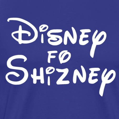 White Disney4Shizney - Men's Premium T-Shirt