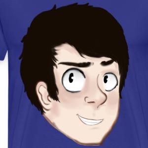 DeWarioFreak Character - Men's Premium T-Shirt