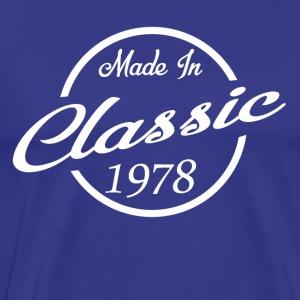 Classic Made in 1978 40th Birthday Gift - Men's Premium T-Shirt