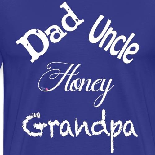 Dad - White - Men's Premium T-Shirt