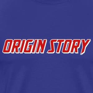 Origin Story (Alternate Border) - Men's Premium T-Shirt