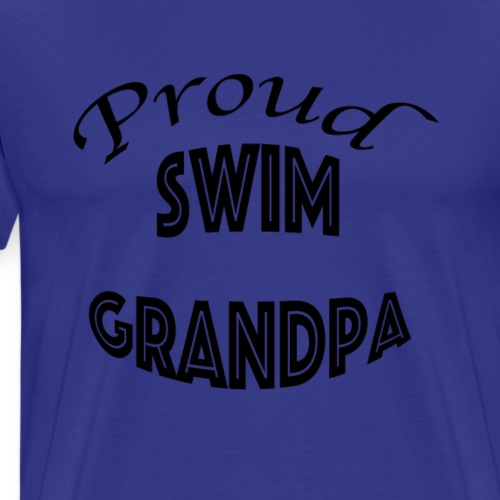 swim granpa - Men's Premium T-Shirt