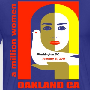 Women-s March on Oakland CA - Men's Premium T-Shirt