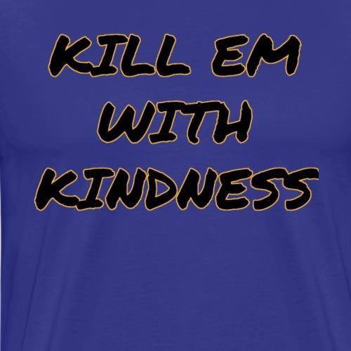 DSWear: Selena Gomez - Kill Em With Kindness Fan - Men's Premium T-Shirt
