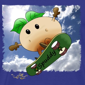 Skating Spuddy - Men's Premium T-Shirt