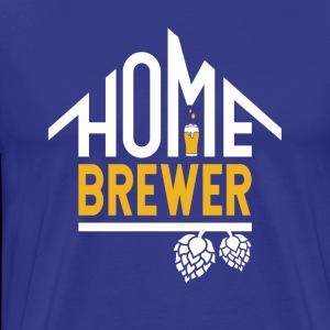 Home Brewer Sign - Men's Premium T-Shirt
