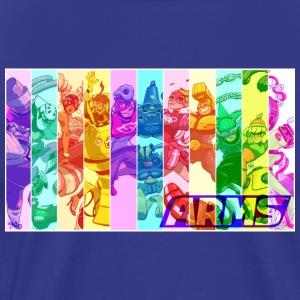 ARMS roster - Men's Premium T-Shirt