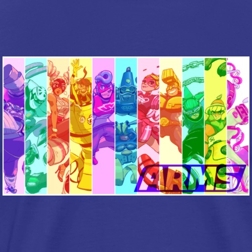 ARMS roster - Men's Premium T-Shirt