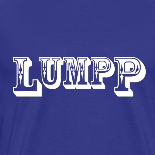 Lumpp logo white - Men's Premium T-Shirt