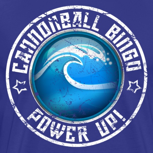 Vintage Tsunami Power-Up Tee - Men's Premium T-Shirt