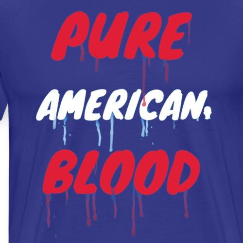 Pure American Blood Shirt - Men's Premium T-Shirt