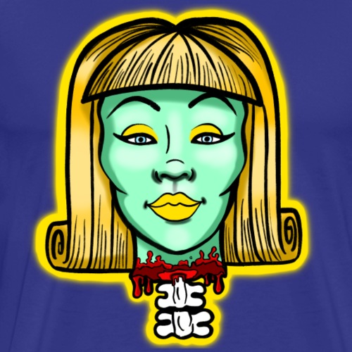 Patty Valium Broken Bunch Graphic Design - Men's Premium T-Shirt