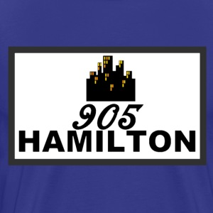 905 HAMILTON CITY #RepYourCity - Men's Premium T-Shirt