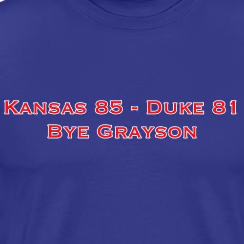 Bye Grayson - Men's Premium T-Shirt