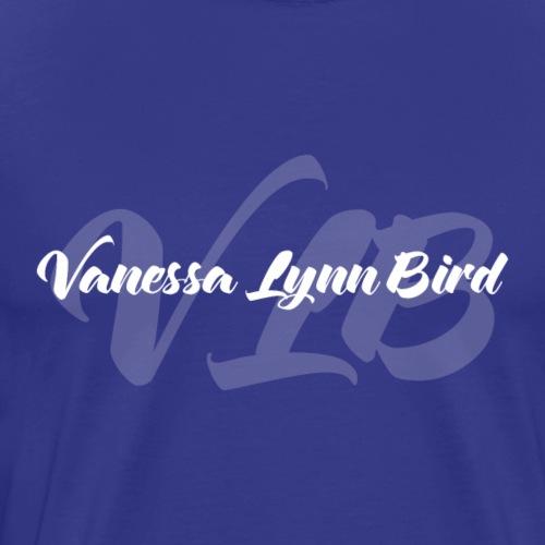 VLB White Logo - Men's Premium T-Shirt