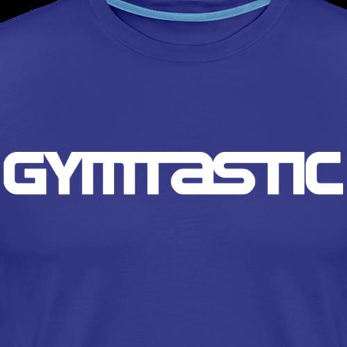 Gymtastic - white - horizontal - front - Men's Premium T-Shirt