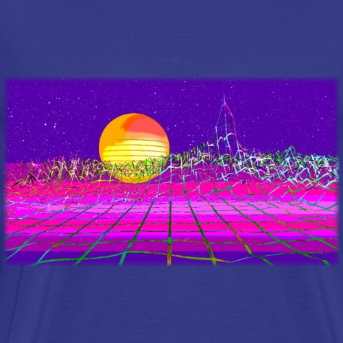 Vaperwave Shirt Number 1 - Men's Premium T-Shirt