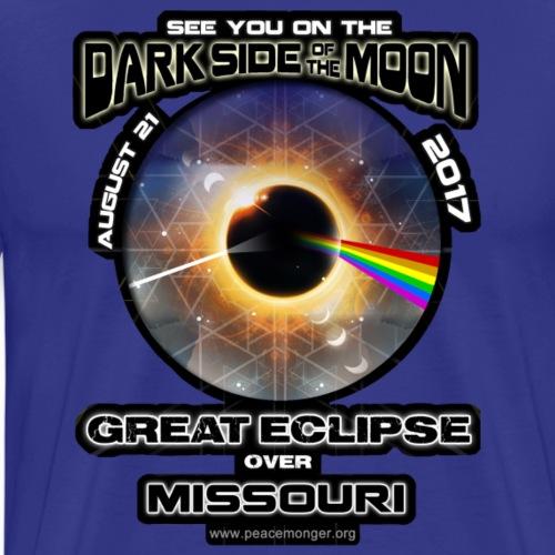 Missouri Dark Side of the Moon Pink Floyd Eclipse - Men's Premium T-Shirt