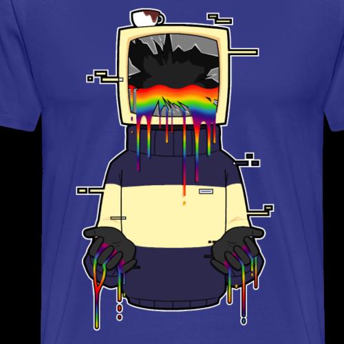 Broken Computer - Men's Premium T-Shirt