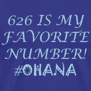 626 Is My Favorite Number! - Men's Premium T-Shirt