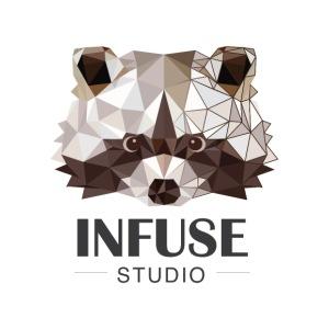 Infuse Studio Logo - Men's Premium T-Shirt